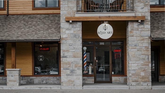 salon de barbier a Stoneham